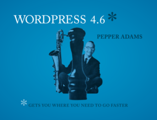 WordPress 4.6 erschienen