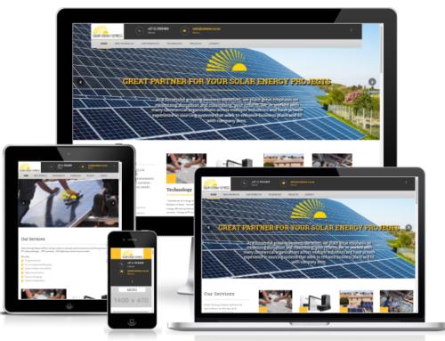 Neuerstellung Solar Energy Express