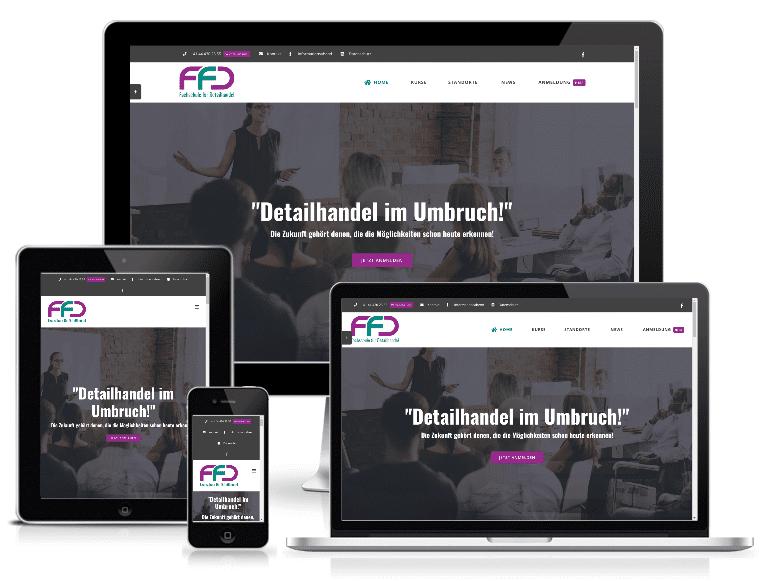 Fachschule für Detailhandel in Basel, Bern und Zürich