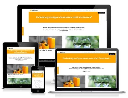 Creation of the website KalkMaster