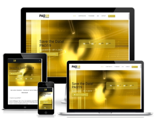 Erstellung der Website PAD19 by IAB