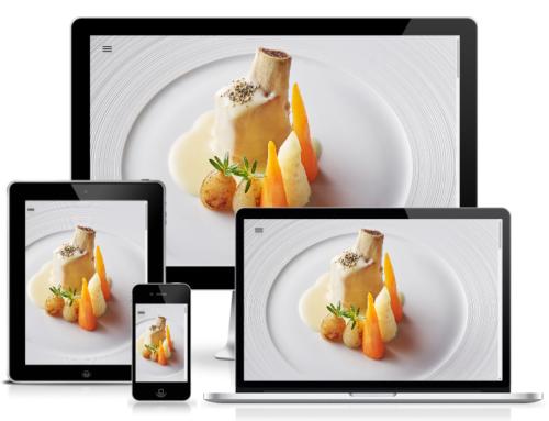 Creation of the website Restaurant Adelboden