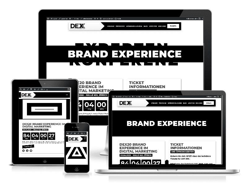 Expérience numérique DEX 2020