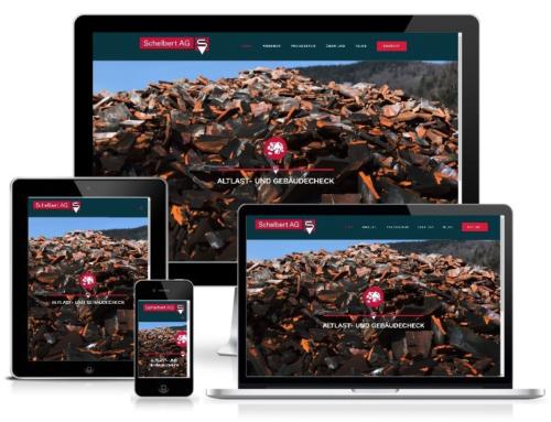 Creation of the website of Schelbert AG