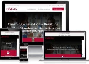 Neue Wordpress Website für die CoSB AG in Uster ZH