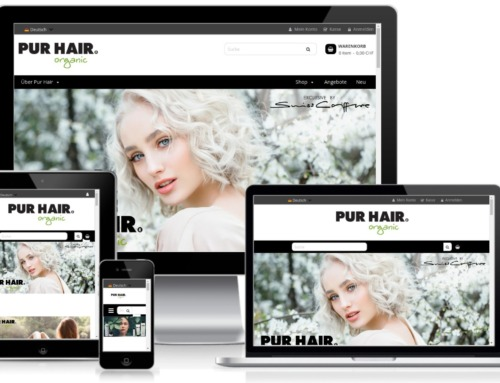 Magento 2.3.5 PUR HAIR Switzerland